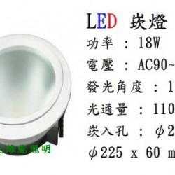 LED 8吋崁燈