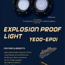 MARINE LED EXPLOSION LIGHT EP01-2