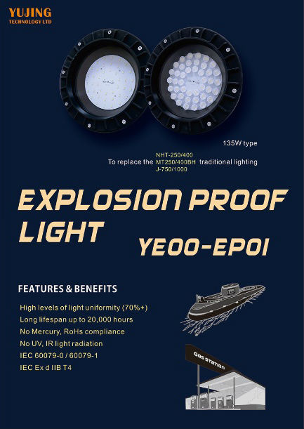 MARINE LED EXPLOSION LIGHT EP01-2
