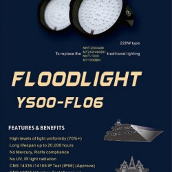 MARINE LED FLOODLIGHT FL06-1