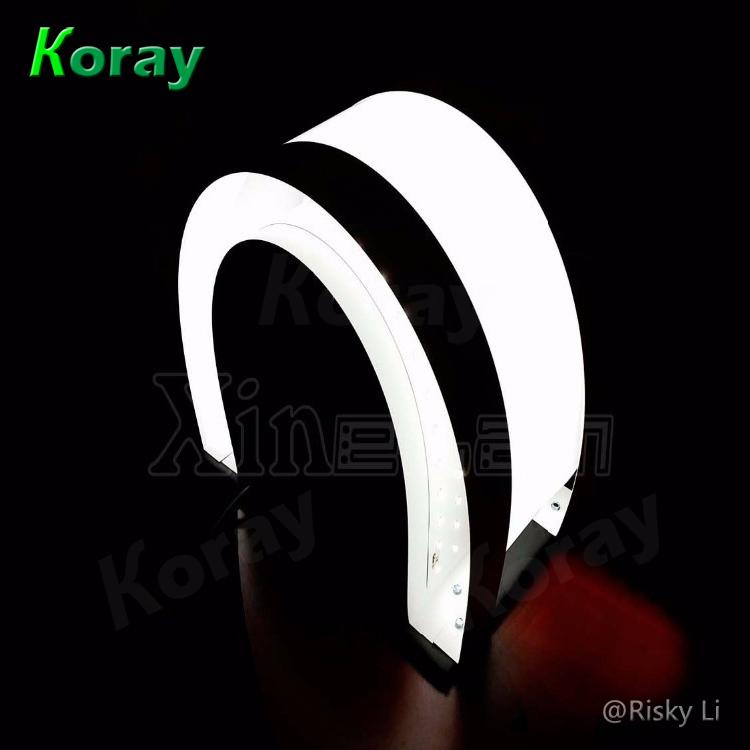 Koray LED薄片燈應用